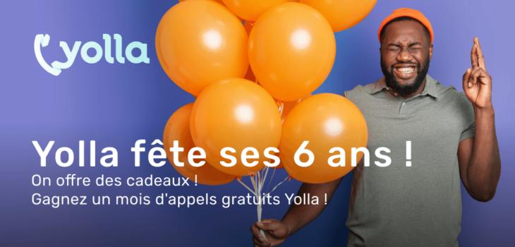Cadeau d'anniversaire de Yolla